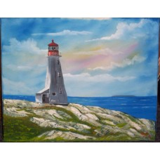"""Peggy's Cove Lighthouse"""