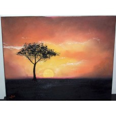 """Serengeti Sunset"""